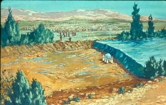 Sacerdotes en el Jordan